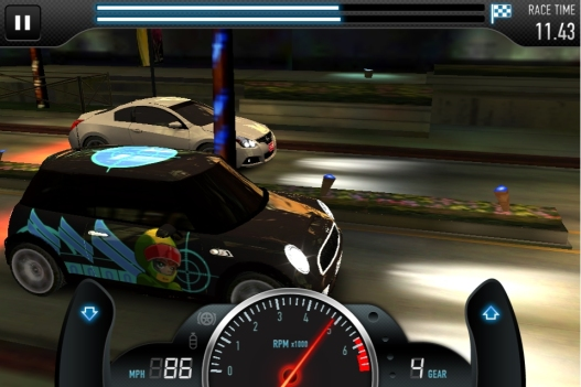 NaturalMotion's CSR Racing (2012)