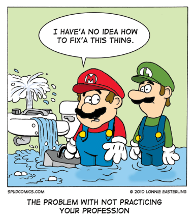 Mario dream job
