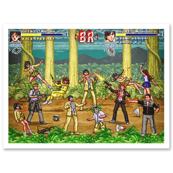 Battle Royale (2000) as Bishōjo Senshi Sailormoon S (1994)