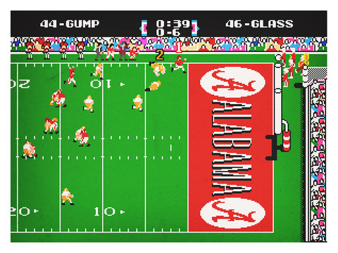 Forrest Gump (1994) as Tecmo Super Bowl (1991)