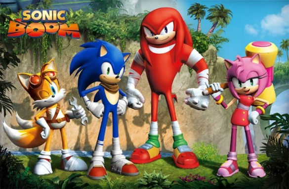 Sonic's 2014 redesign