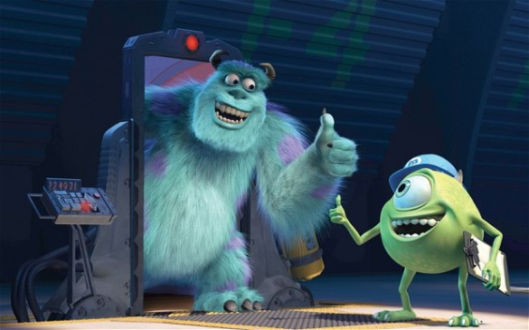 Sully Mike Monsters Inc. Job